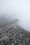 Dimmiga Rocky Mountain Ridge Royaltyfri Fotografi