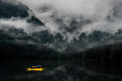 Dimmigt berg Indien Royaltyfria Bilder