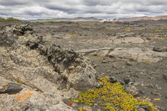 Dimmuborgir area, volcanic landscape - Iceland. Royalty Free Stock Photography