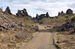 Dimmuborgir, Iceland Royalty Free Stock Photography