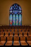 Dimnent Memorial Chapel Stained Glass Window Royalty Free Stock Images
