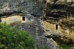 Dimora di caverna Fotografia Stock
