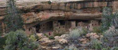Dimora di scogliera di Anasazi fotografie stock libere da diritti