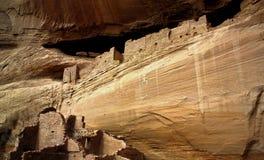 Dimore di scogliera di Anasazi Fotografie Stock