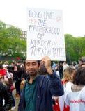 Dimostrante turco Fotografia Stock Libera da Diritti