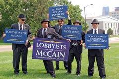 Dimostranti Immagini Stock Libere da Diritti