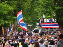 Dimostranti tailandesi di PDRC Immagini Stock