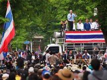 Dimostranti tailandesi di PDRC Fotografie Stock Libere da Diritti