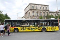 Dimostranti in Turchia nel giugno 2013 Fotografia Stock