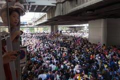 Dimostrazione antigovernativa Tailandia Fotografia Stock