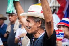 Dimostrazione antigovernativa Tailandia Immagini Stock Libere da Diritti
