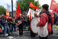 Dimostrazione a Berlino il 16 maggio 2009 immagini stock libere da diritti