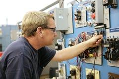 Dimostrazione del controllo di motore Fotografia Stock
