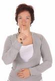 Dimostrazione della mano, Fotografie Stock Libere da Diritti