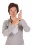 Dimostrazione della mano, Immagini Stock