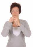 Dimostrazione della mano, Fotografie Stock