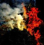 Dimostrazione dello spirito di fuoco Immagini Stock