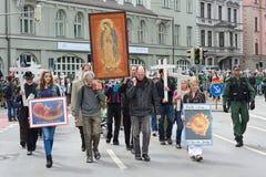Dimostrazione di Anti-aborto Fotografia Stock