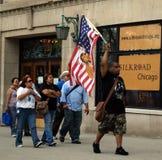 Dimostrazione di diritti civili Immagini Stock Libere da Diritti