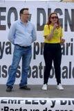 Dimostrazione a Marchena Siviglia 13 Fotografia Stock