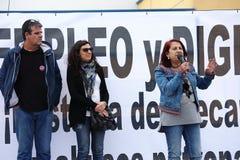 Dimostrazione a Marchena Siviglia 19 Fotografie Stock Libere da Diritti