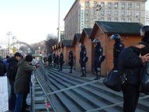 Dimostrazione pacifica a Kiev Fotografie Stock Libere da Diritti