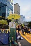 Dimostri in Hong Kong Immagini Stock Libere da Diritti