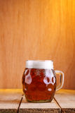 Dimpled beer mug Stock Photos