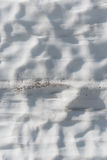 Dimples in Snow Drift Royalty Free Stock Photo