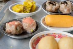 Dimsum作为快餐或开胃菜早餐 图库摄影