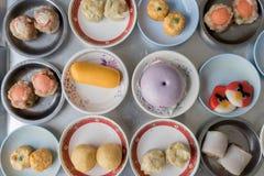 Dimsum作为快餐或开胃菜早餐 免版税库存图片