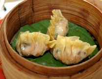 Dimsum Assorted Fotografia de Stock Royalty Free