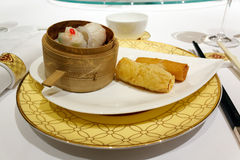 Dimsum chinese food Royalty Free Stock Photos