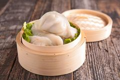 Dimsum. Close up on fresh dimsum Royalty Free Stock Photos