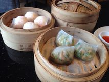 Dimsum, food, chinese food, restaurant Stock Images