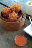 Dimsum fritado Foto de Stock