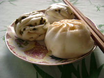 Dimsum twisted roll Royalty Free Stock Photography