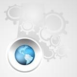 Dinâmica global - Premiium o IDE ilustração do vetor