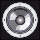 Dinâmico audio do vetor Foto de Stock Royalty Free