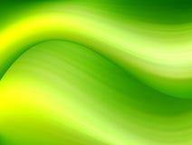 Dinâmico verde ilustração royalty free