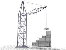 din affär för 2 byggande Arkivbild