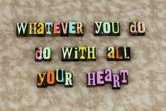 Din aktie för hjärtamedkänslahjälp royaltyfri illustrationer
