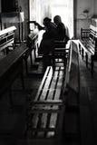 Din bön ska svaras snart Fotografering för Bildbyråer
