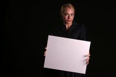 din blank text Royaltyfri Fotografi