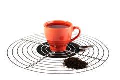 din choice tea Royaltyfri Bild