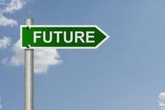 din framtid Royaltyfri Bild