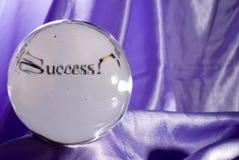 din framtida framgång Arkivfoto