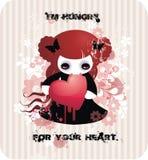 din hjärta hungrigt I M Arkivfoton