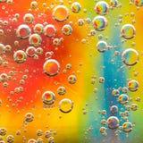 din illustration för bakgrundsbubbladesign Arkivbilder