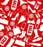 din klar textur för julmeddelande Arkivfoto